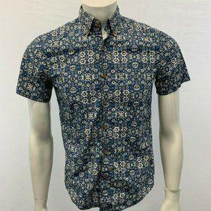 American Eagle Floral Button Down Shirt Men's XS